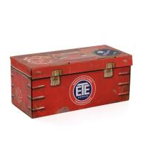China Retro Corrugated Packaging Box / Cardboard Boxes Full Color Printing for sale