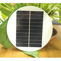 China 1.4W 5V Circle Round Mini Solar Panels,Solar Power Mini Solar Cells DIY Electric Toy Materials Photovoltaic Cells for sale
