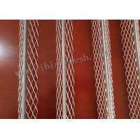 China 3m Length Plaster Angle Bead Has A Smooth Round Nose Bead With Diamond Mesh for sale