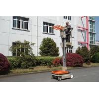Wholesale 5.1 m Mast Type Aluminum Self Propelled Elevating Work Platforms Stock Picker from china suppliers
