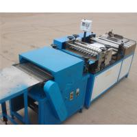 Best Auto ECO Filter Pleating Machine With Paper Pre - Slitting , 420mm Width wholesale