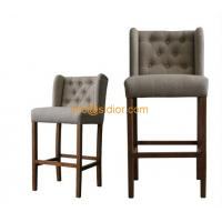 Wholesale CL-4403 luxury club bar furniture, solid wood bar chair, wooden bar stool, high bar chair from china suppliers
