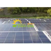 Quality OEM Solar Panel Racks Solar Panel Roof Mounting System Made Of Stainless for sale