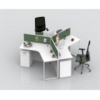 China Office Stand Computer Partition Workstation Tables With Cabinets Height Adjustable on sale
