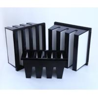 Wholesale MERV16 V Bank Cell Filter With ABS Plastic  Frame from china suppliers