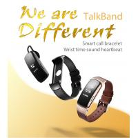 Wholesale Smart Movement Bracelet With Talk Phone / Heart Rate And Blood Pressure Function from china suppliers