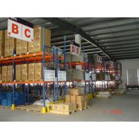 Buy cheap Logistics Equipment Heavy Duty Metal Shelving Easy Installation 10 Years from wholesalers