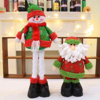 Wholesale Easy Clean Surface Animated Plush Christmas Toys Long Beard Santa Claus Filled With Full Pp Cotton from china suppliers