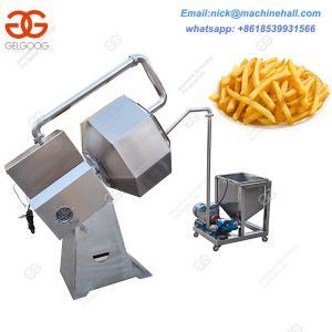 China French Fries Seasoning Machine Price|Easy Operate Potato Chips Seasoning Machine|Potato Chips Seasoning Machine for Sale on sale