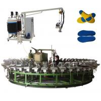 China PU rotary production line for pu slipper and sandals manufacturing for sale
