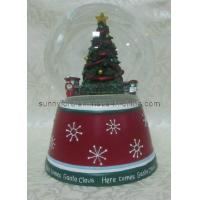 Wholesale Polyresin Christmas Snow Globe (SFR1652) from china suppliers
