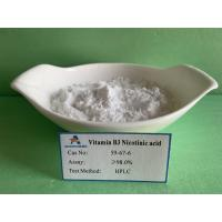 China Healthcare Nicotinic Acid Supplement Cas 59 67 6  For Digestive Tract Diseases on sale