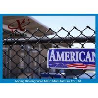 Wholesale Galvanized Steel Chain Link Fence Diamond Wire Mesh Fence Privacy Fence from china suppliers