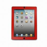 Wholesale Screen Protector for Apple's iPad 2, with Multicolored Carbon Fiber Frame from china suppliers