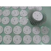 Best High Power LED Lights Thermal Gap Fillers , Glass Fiber Backing Conductive Silicone Rubber wholesale