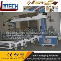 window frame surface wrapping pvc film Profile wrapping machine