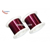 Wholesale Red Color 0.1mm Enameled Winding Wire Polyester Insulation from china suppliers