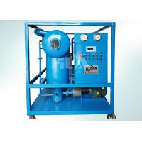 LVP Automatic Multistage Lube Oil Purifier System For Filtering Dehydration Lubricant Oil for sale
