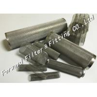 Wholesale Microporous Filter Center Tube Perforated Metal Sheet Spiral Perforated Tube / Pipe from china suppliers