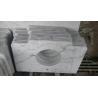Marble Countertop Guangxi White Marble Vanity Top China Carrara Marble Bathroom Vanity Top for sale
