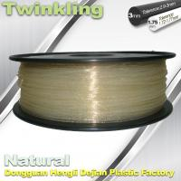Wholesale ±0.03 Tolerance Roundness 3d Printing Filament 1.75 3.0mm Transparent Color from china suppliers