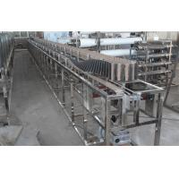 Wholesale Plastic Bottles Oil Filling Machine Electric Bottle Sterilizer 220mm Conveyor Width from china suppliers