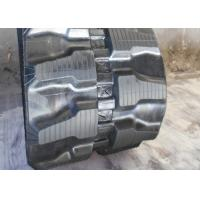 320mm Wide Rubber Excavator Tracks , light Weight Bobcat Replacement Tracks for sale