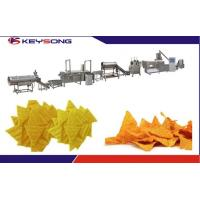 Quality Fully Automatic Corn Tortilla Doritos Snacks Food Making Machinery for sale