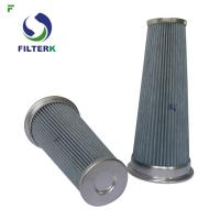 China Pleated Vacuum Cleaner Air Filter Cartridge PTFE Material 0112311 Model for sale