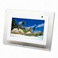 Wholesale 7-inch Digital Photo Frame, Supports JPEG with Aspect Ratio:16:9 from china suppliers