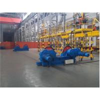 10 Ton Conventional Tank Welding Rotators , PU Roller Turning Rolls For Boiler Industry