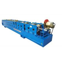 """Best 3"""" * 4"""" Rectangular Rainspout Roll Forming Machine for Rainwater Downpipe / Water Pipe wholesale"""