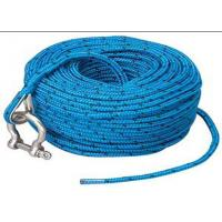 Wholesale Blue polypropylene auto tow rope automatic tow rope towing car rope with shackle from china suppliers