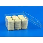 China Transparent Square Plastic Jars , Food Grade PE Chocolate Storage Box for sale
