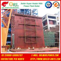 Wholesale 10T - 1000 Ton CFB Boiler Petrochemical Biomass Industry Superheater Coils High / Low Pressure from china suppliers