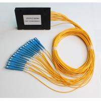 Wholesale 1x2 1x4 1x8 1x16 1x32 1x64 Optic PLC splitter ABS Module type from china suppliers