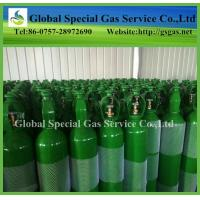 Wholesale seamless steel oxygen cylinder Dia140mm 10L small high pressure gas cylinder good quality from china suppliers
