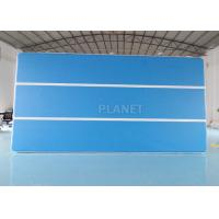 Wholesale Blue 6x3x0.2m Inflatable Air Track For Swimming Pool Floating Mat from china suppliers