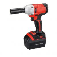 China High Torque Battery Operated Impact Wrench / Powerful Cordless Impact Wrench For Automotive on sale