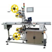 China Top And Bottom Surface Automatic Labeling Machine Automatic Sticker Labeling Applicator for sale