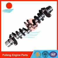 Wholesale excavator motor accessories forged steel crankshaft 6HK1 8-94396737-0 for Sumitomo excavator SH350-5 from china suppliers