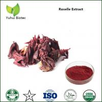 Wholesale Hibiscus Sabdariffa P.E.,Roselle Flower Extract red color,Roselle Extract Powder from china suppliers