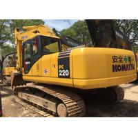China 2009 Year 22 Ton Second Hand Diggers Komatsu PC220 - 7 With High Performance on sale