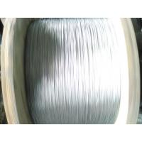 Best Smooth Surface Zinc Coated Steel Wire Stranded 7/0.33mm For Making Optical Cable wholesale