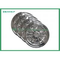 Wholesale 10 Golf Cart Hub Caps Golf Trolley Wheel Covers SS Design Customized Material from china suppliers