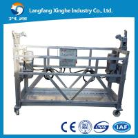 China zlp platform / Hoist suspended platform / lifting cradle / construction gondola for window cleaing / painting on sale
