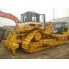 Japan Used Crawler Bulldozer , Caterpillar D6R Dozer New Paint 3 Shanks Ripper for sale