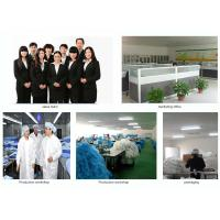 Factory price single use non woven isolation gown with knitted cuff