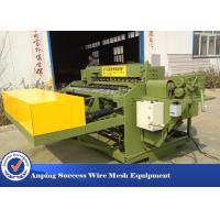 Wholesale Automatic Welded Wire Mesh Machine Adopts Electrical Synchronous Control Technique from china suppliers