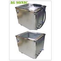 28 / 40khz Industrial Ultrasonic Cleaner For Gears Metal / Plastic Precision Bearings